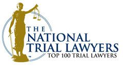 Logo Recognizing Gray and White Law's affiliation with the National Trial Lawyers
